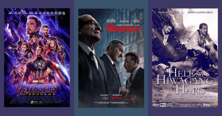Movies Over 3 Hours: Avengers, The Irishman, Hele sa Hiwagang Hapis