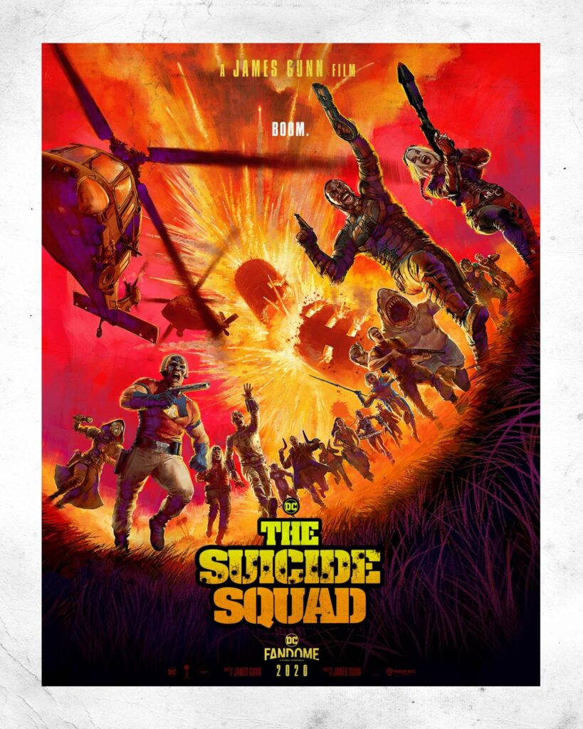 James Gunn's The Suicide Squad Poster