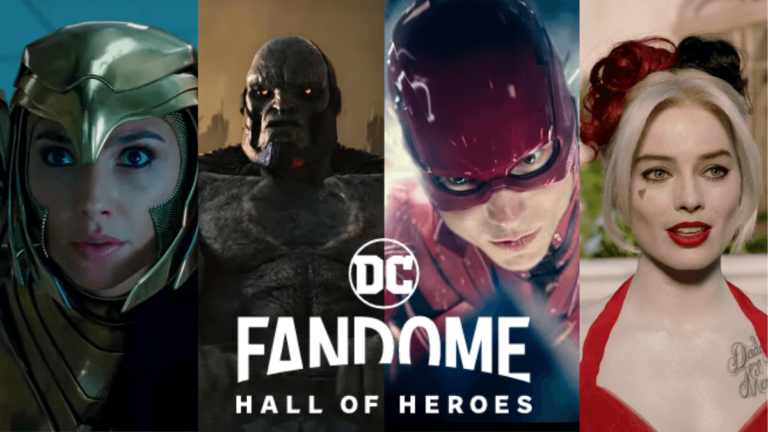 DC FanDome Event News and Trailers