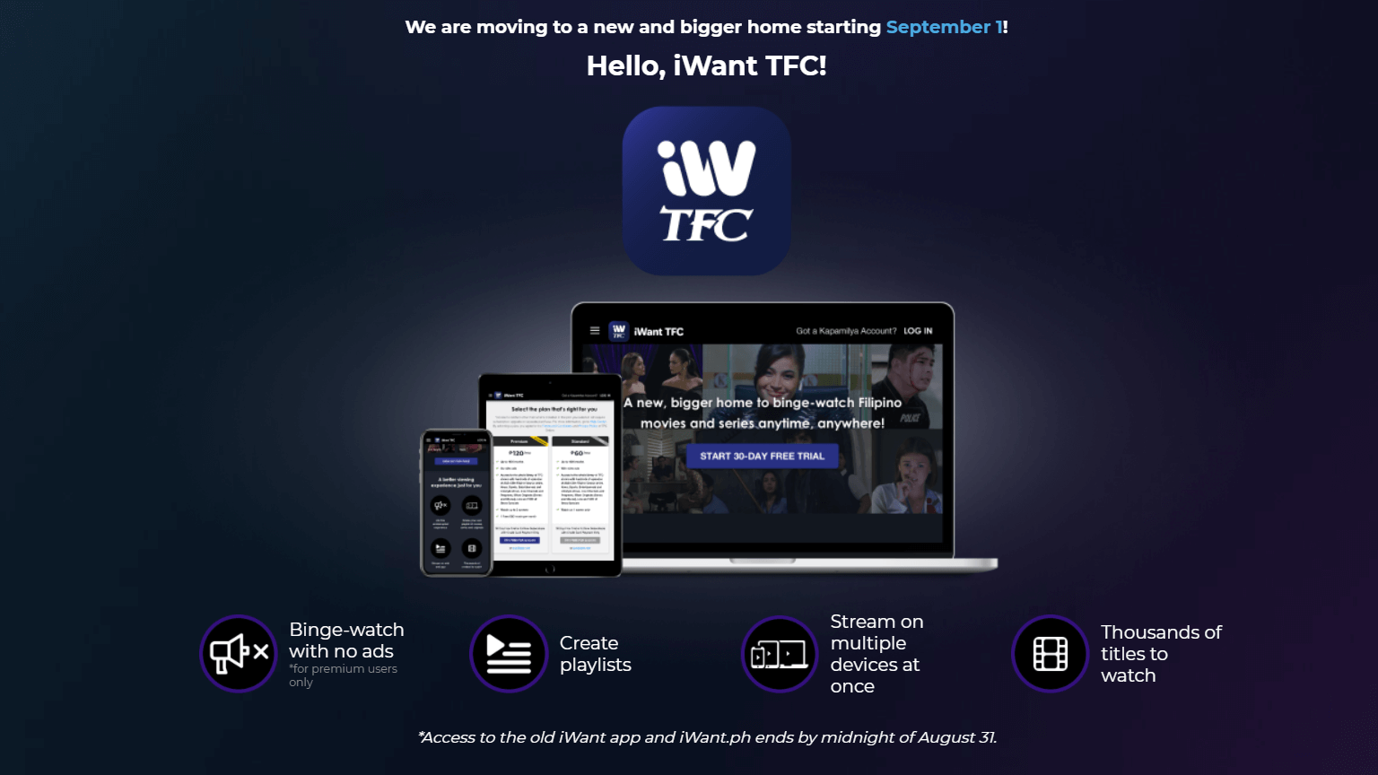 iWant to Merge with TFC Online For a New Website and Application