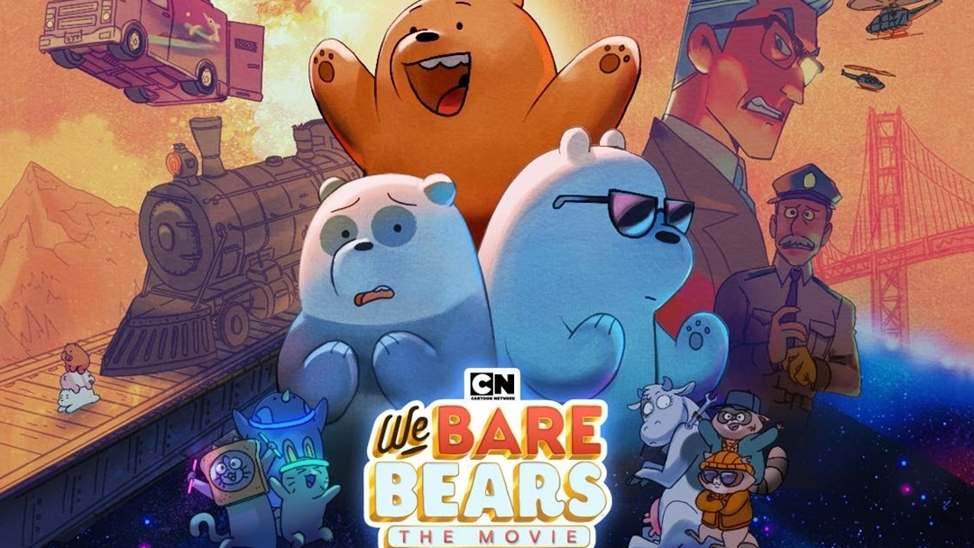 'We Bare Bears: The Movie' To Make A Cross-Platform Debut on TV This September