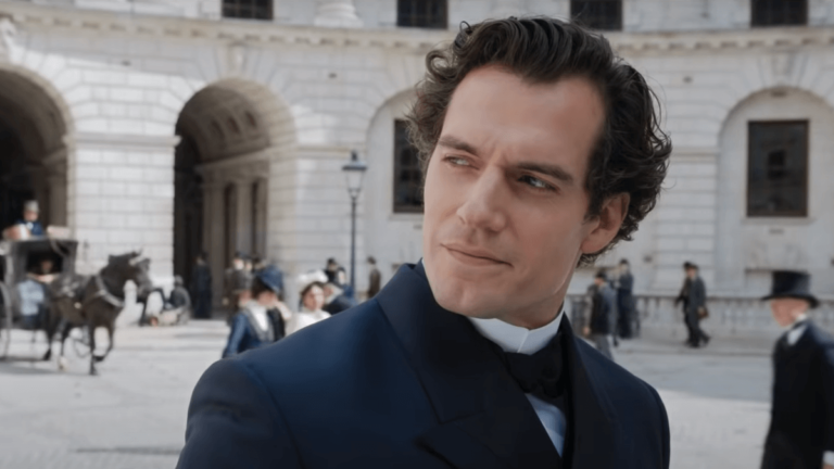 WATCH: Henry Cavill's Sherlock Becomes a Big Brother to 'Enola Holmes'