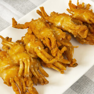 Easy-Fry Crispy Crablets