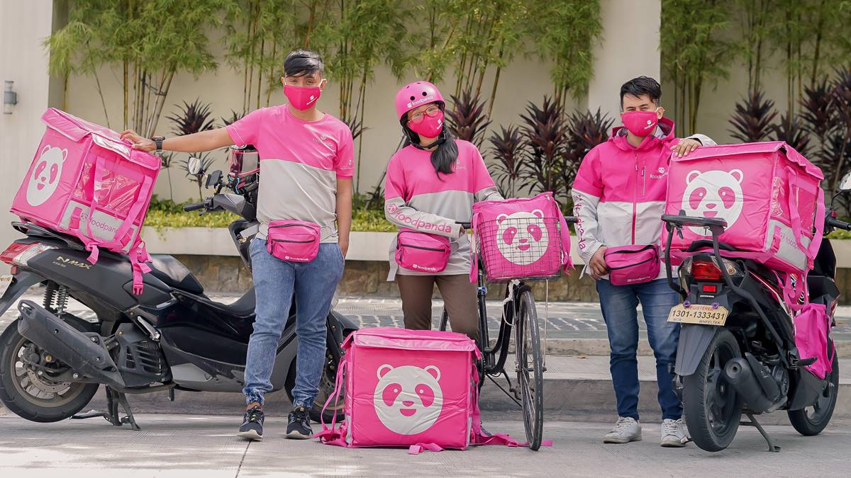 foodpanda keeps their riders in a good vibes state of mind