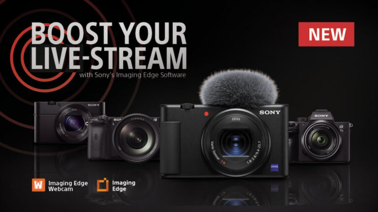 Sony Announces New Solution for High-Quality Live Streams via Sony Digital Cameras