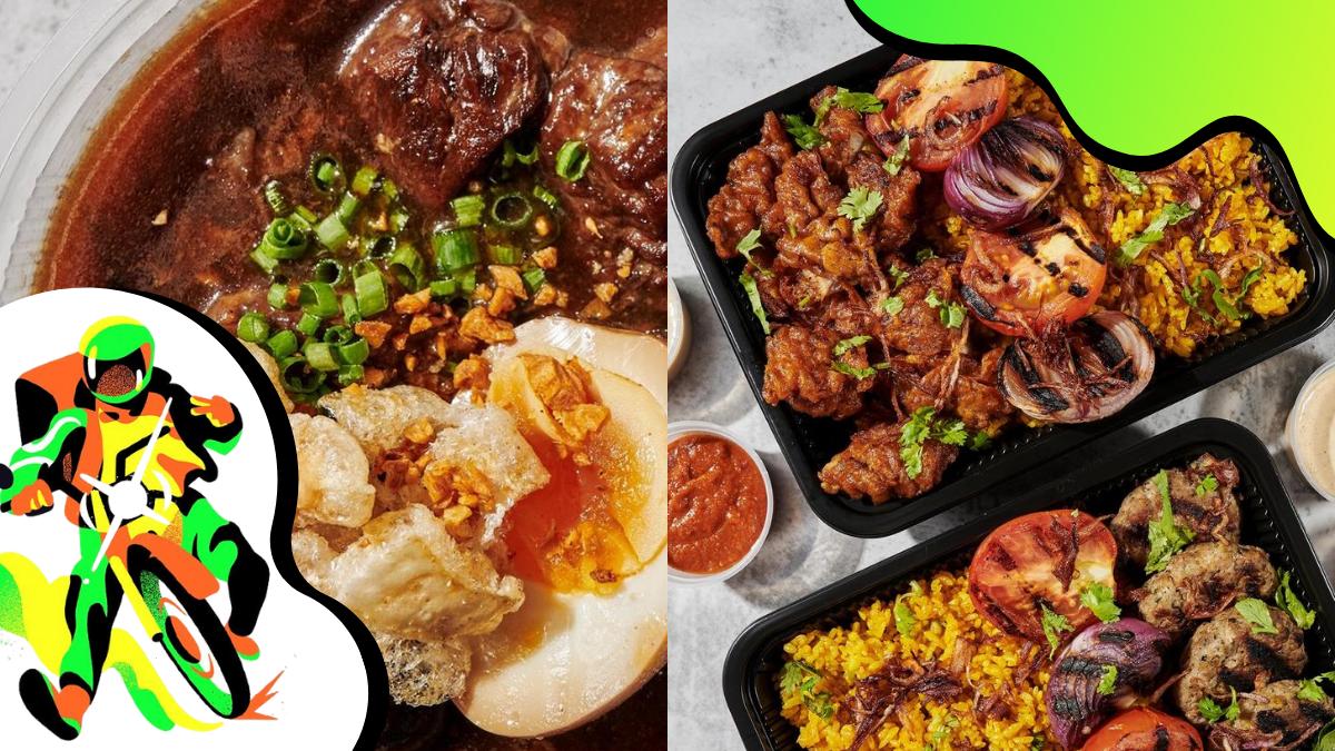 'Off-Grid' Virtual Food Hall: Shawarma Rice, Pares, and More Comfort Eats