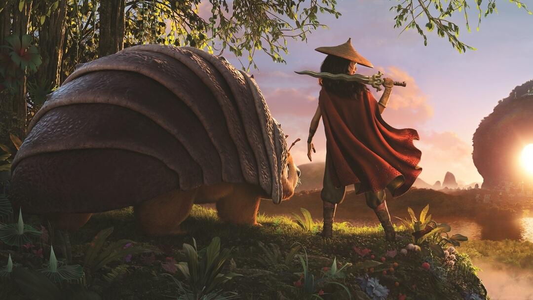 FIRST LOOK: Raya and Tuk Tuk of Disney's 'Raya and the Last Dragon'
