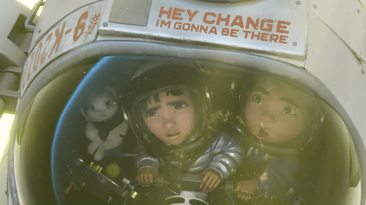 WATCH: The Lyric Video to 'Rocket to the Moon' of the Netflix Film 'Over the Moon'