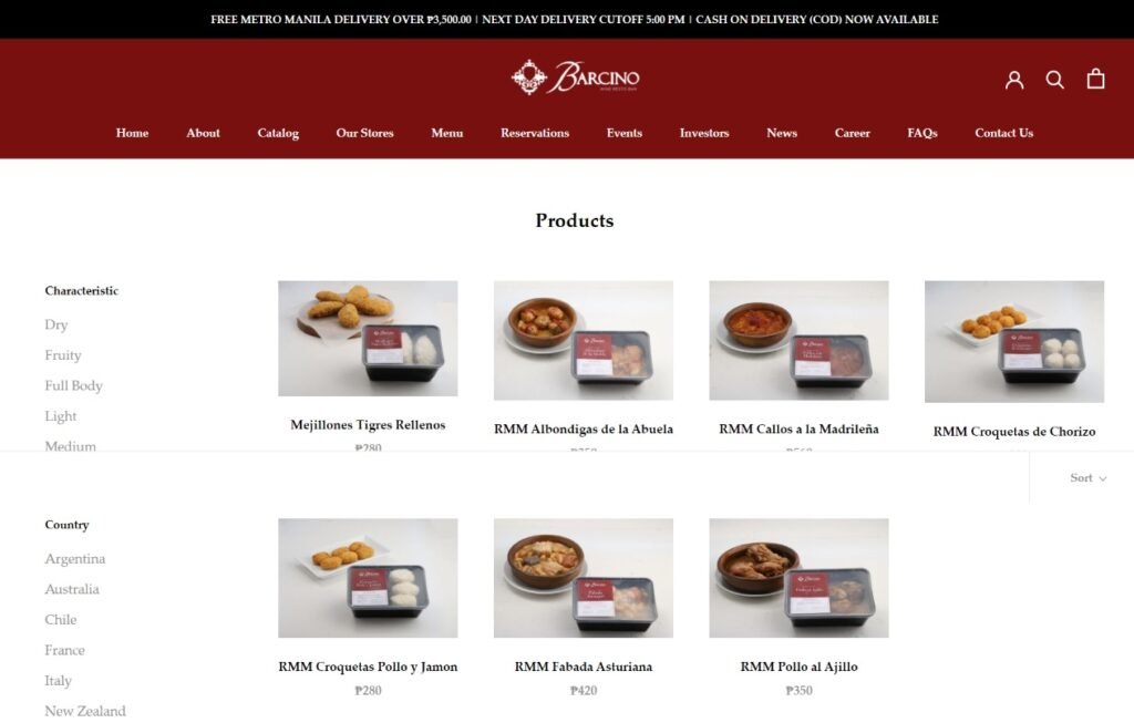 Barcino Tapas and Specialties order online