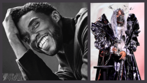 Chadwick Boseman and Lady Gaga