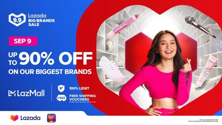 Lazada's 9.9 Big Brands Sale
