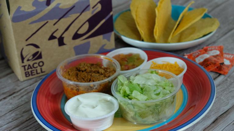 Taco Bell DIY Taco Kit