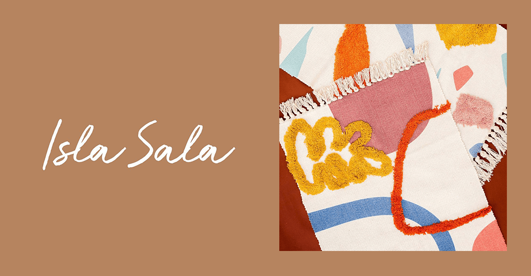 Instagram Finds: Colorful and Aesthetic Rugs from Isla Sala