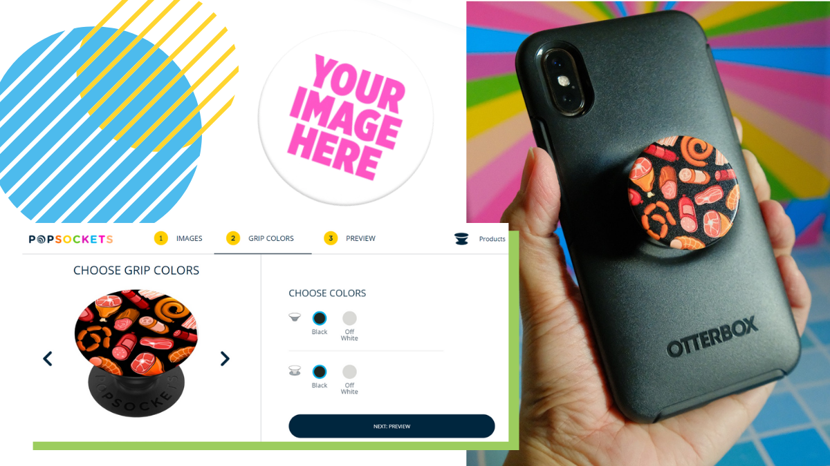 Turn Your Photos and Designs into Phone Accessories with Create Your Own PopSockets