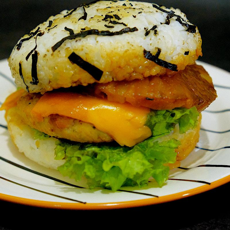 Musubi-Rush Hawaiian Burger