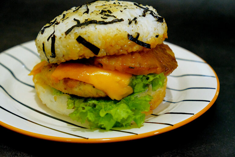 Musubi-Rush Rice Burger