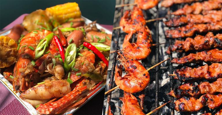 Cajun Shrimp and Grilled Shrimp