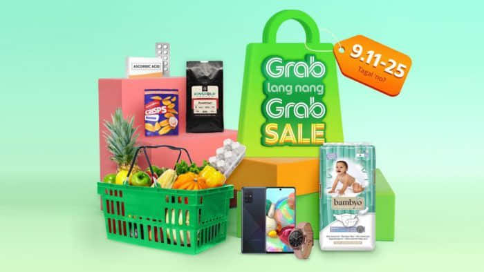 Get Your Essentials Through the Grab lang nang Grab Sale