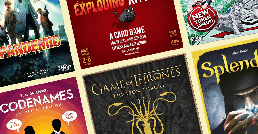 10 Must-Try Board Games For Your Next Game Night