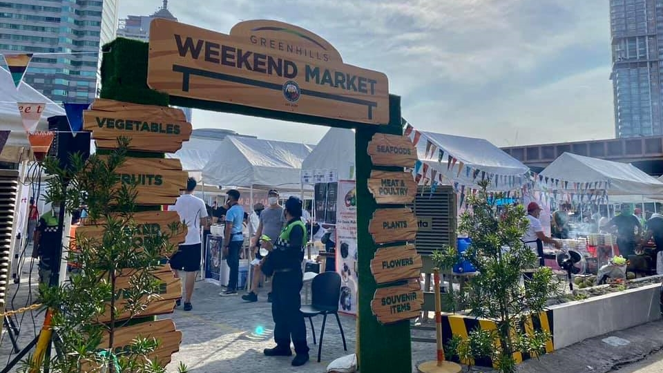 Ortigas Malls Partners with Brgy. Greenhills for the Greenhills Weekend Market