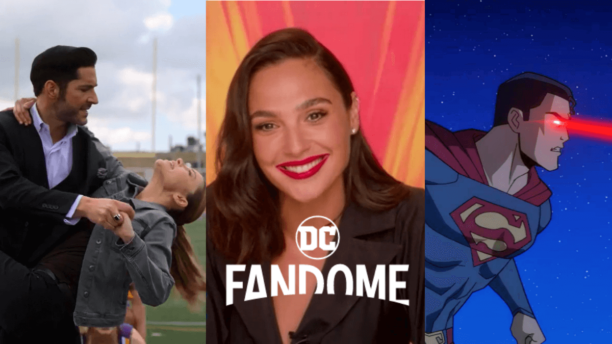 Exclusive Panels & Content to Stream at the DC FanDome: Explore The Multiverse