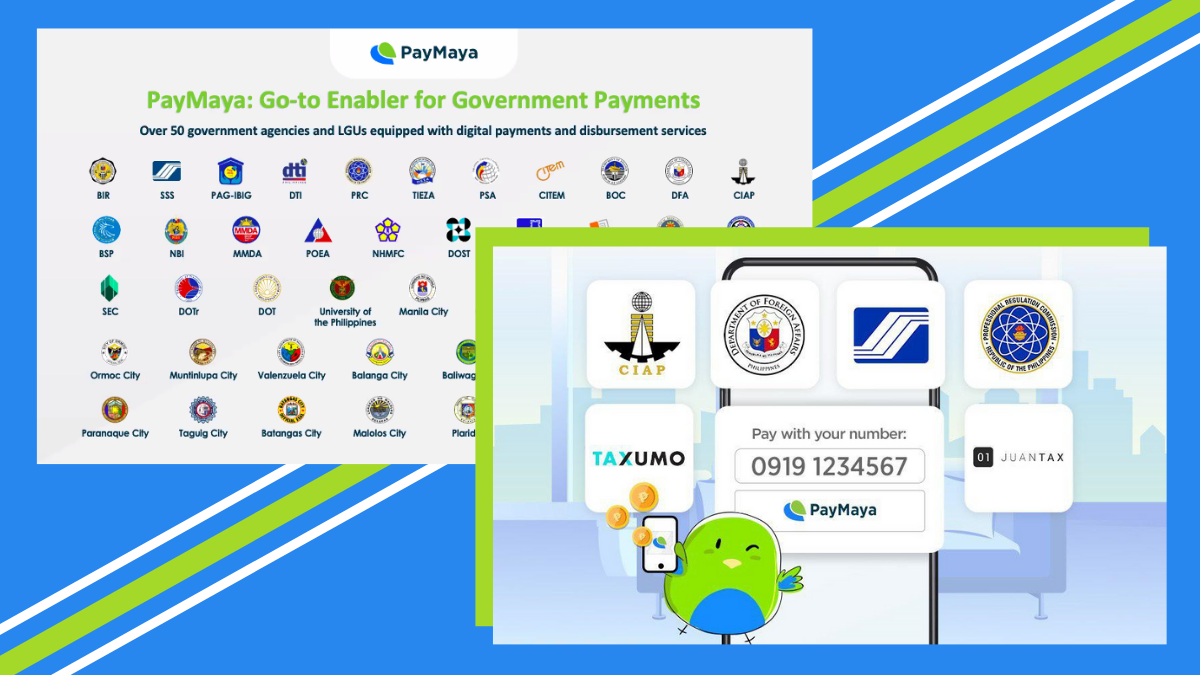 PayMaya Enables Online Cashless Government Payments