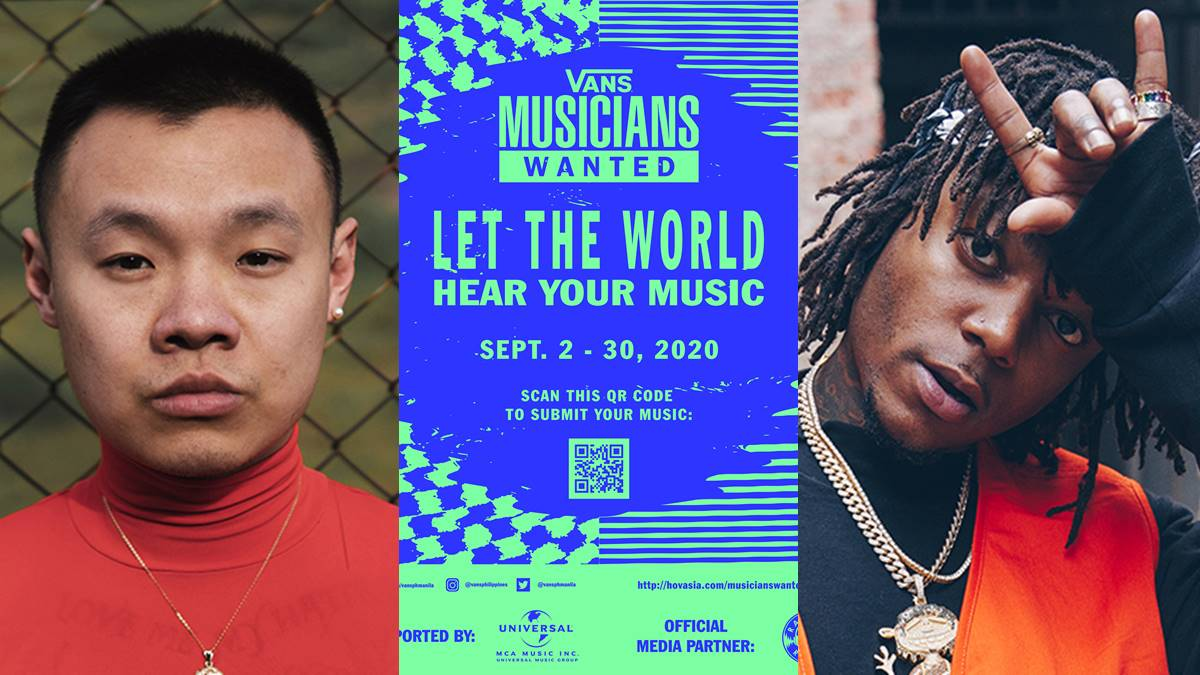 Vans Partners with Hip Hop Artists J.I.D. and Bohan Phoenix for Musicians Wanted Competiton