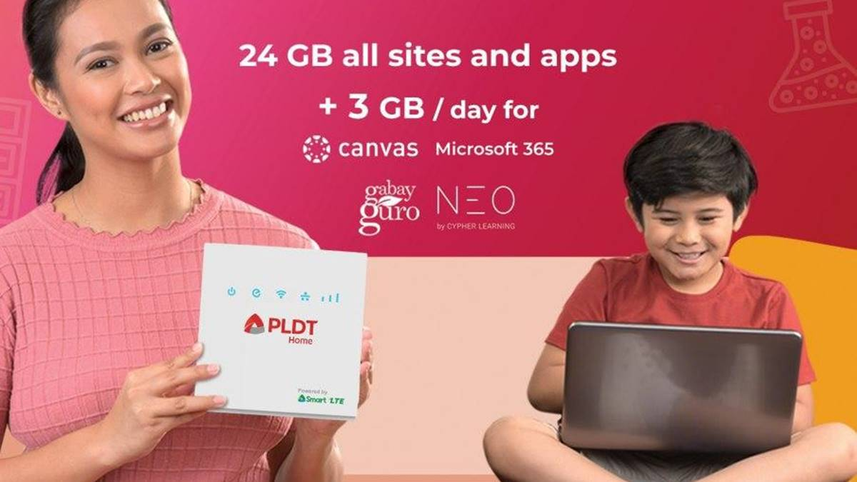 PLDT Home has Prepaid Data Packs for E-learning