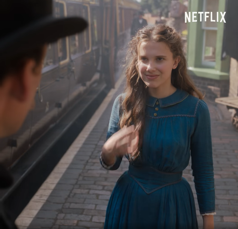 Millie Bobby Brown as Enola Holmes in Netflix Film 'Enola Holmes'