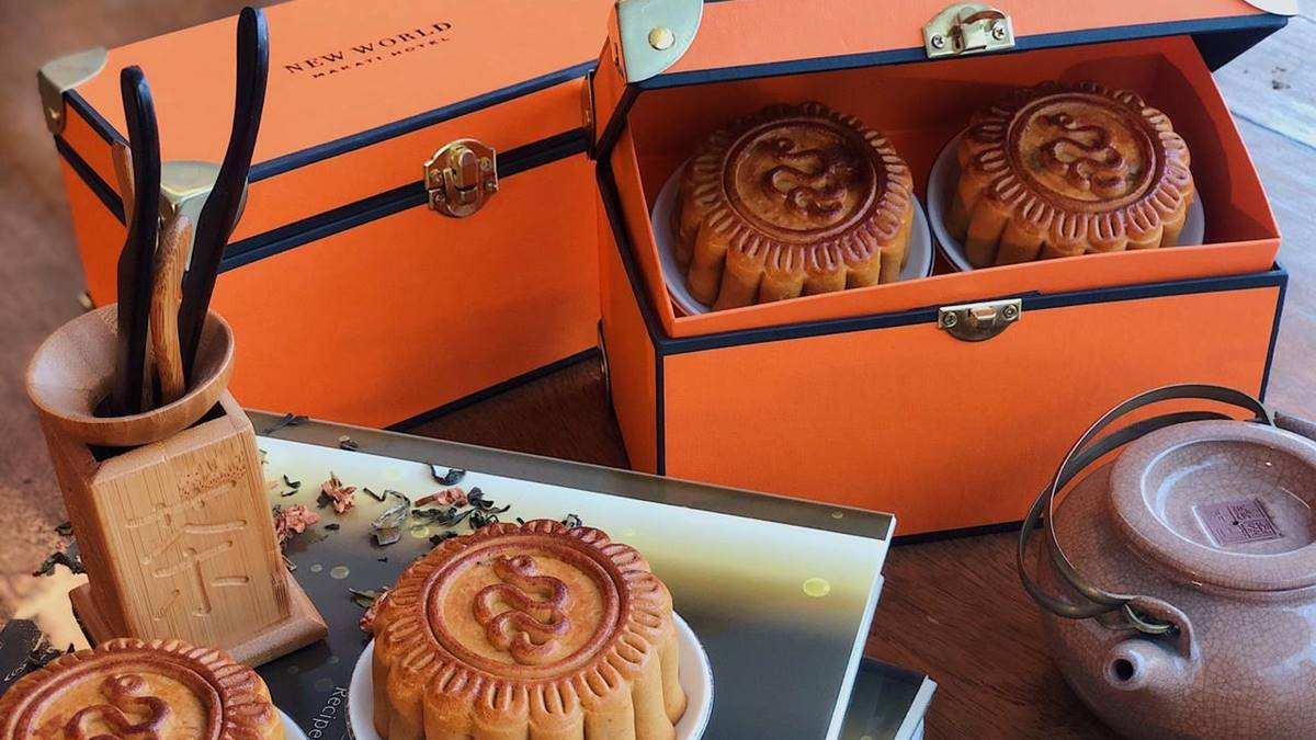 Grab Some Mid-Autumn Mooncakes at Jasmine, New World Makati Hotel