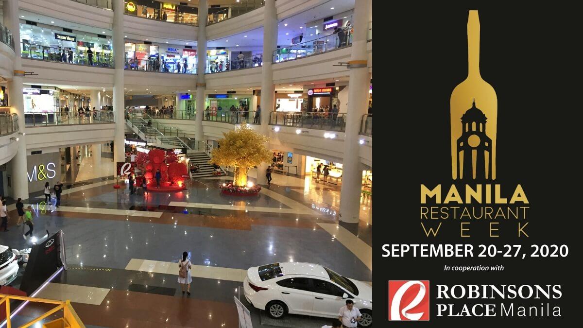 Robinsons Place Manila Joins Manila Restaurant Week