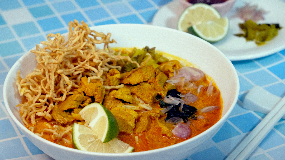 WATCH: Make Khao Soi Moo at Home with Samyan's DIY Thai Noodle Kit