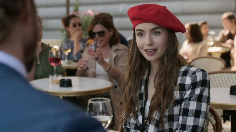Lily Collins as Emily in Emily in Paris
