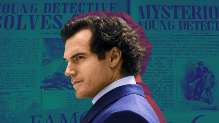 Interview: Henry Cavill Talks About Being Sherlock in Netflix's 'Enola Holmes'