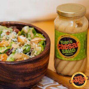 Yuan's Famous Caesar Salad Dressing