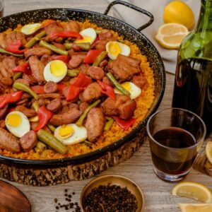 Yuan's All Meat Paella