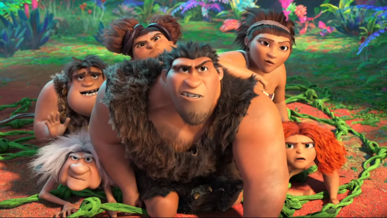 The Croods Family in The Croods: A New Age