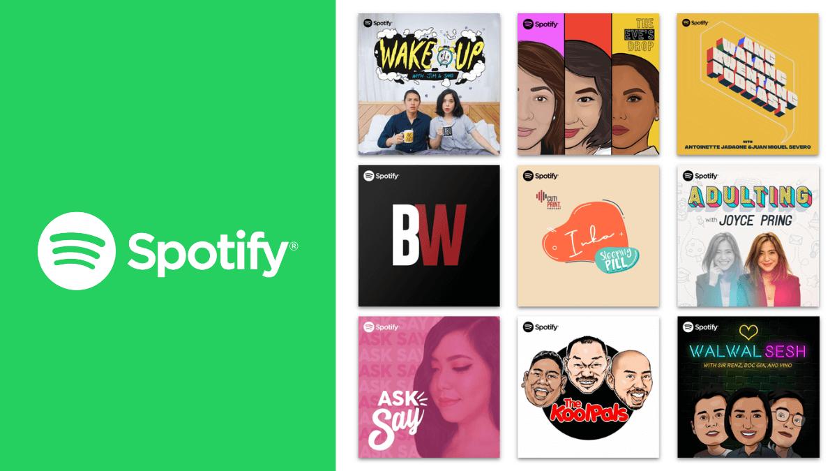 Spotify Unveils Nine Platform-Exclusive Filipino Podcasts