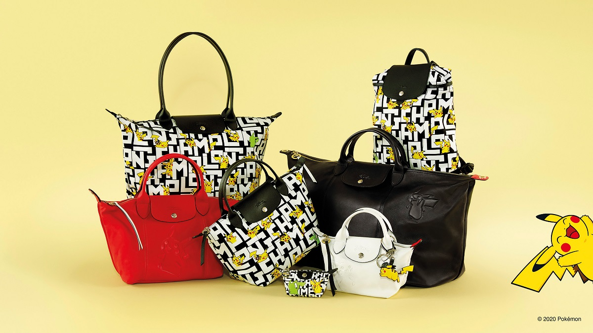 A Longchamp x Pokemon Collab is Happening in October!