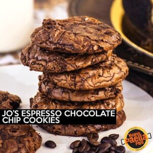 Jo's Espresso Chocolate Chip Cookies
