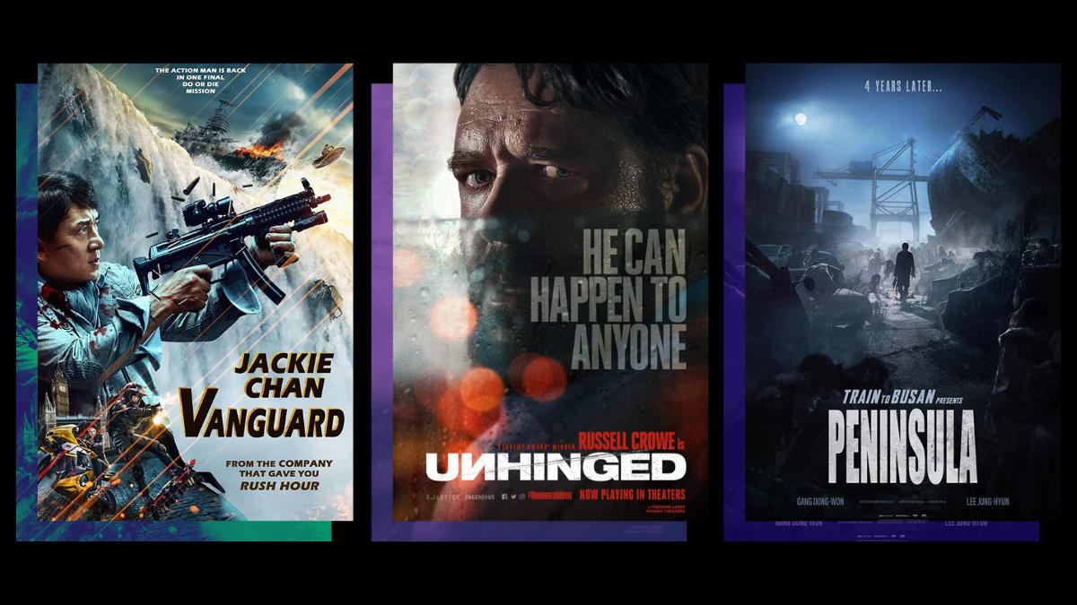Movie Schedule: Peninsula, Unhinged, and Vanguard in SM Cinema Drive-in This Week