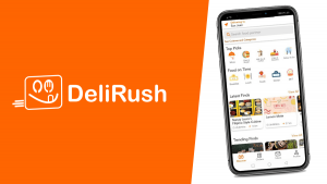 DeliRush Food Delivery App Expands in San Juan & Mandaluyong