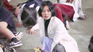 Jung Yu Mi as Ahn Eun Young in The School Nurse Files