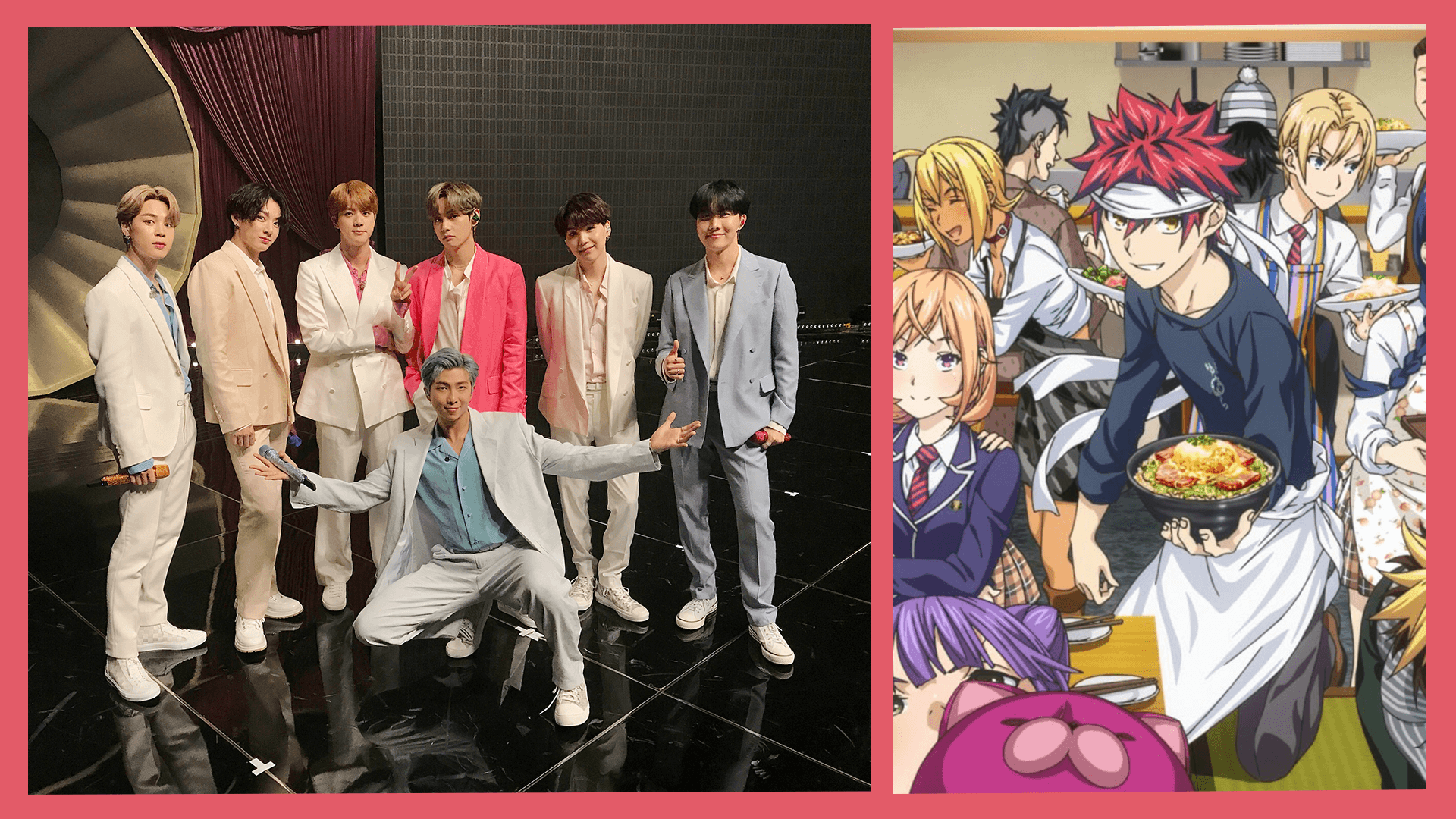 Online News Roundup: BTS' New Album 'BE', Lily Collins, and 'Food Wars'