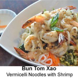 Bun Tom Xao (Shrimp)