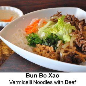 Bun Bo Xao (Beef)