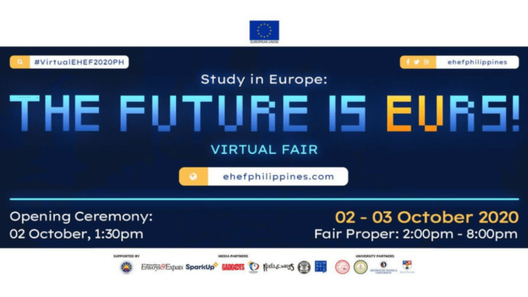 EU Can Do It! Excellence in Higher Education Goes Virtual at European Higher Education Fair (EHEF) 2020