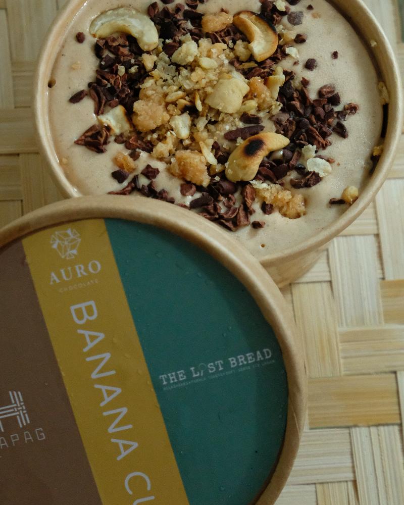 Banana Cue Ice Cream (P450)
