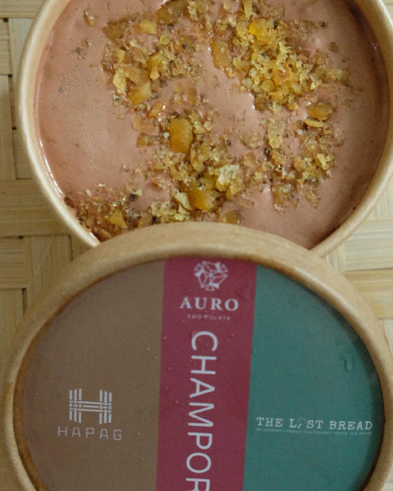Champorado Ice Cream (P450)