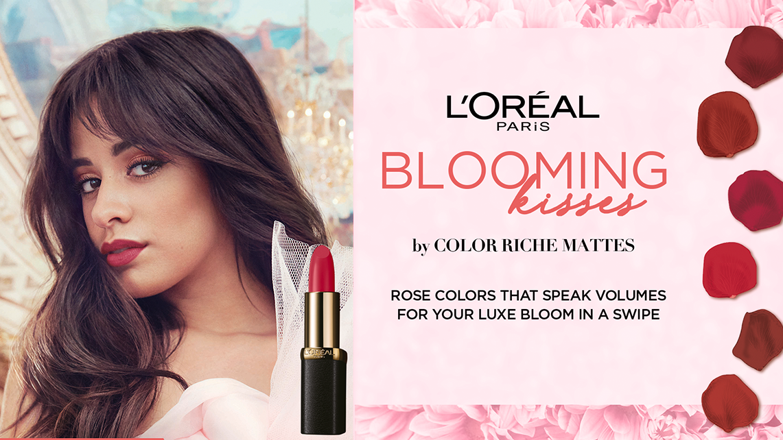 L'Oreal Introduces Its Dreamy 'Blooming Kisses' Collection by Color Riche Mattes